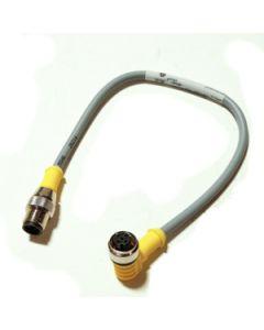 0.3m Eurofast Conn Cable Rt Angle -str M12